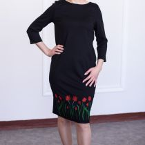 Платье женское трикотажное 17c-07
